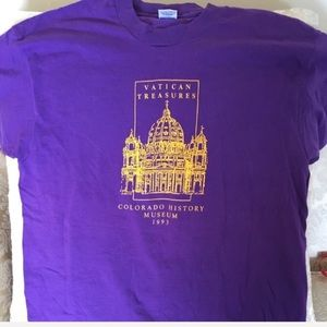 NEW Vatican Treasures tee Colorado History Museum